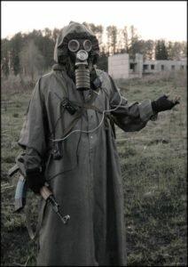 Правила поведения в зараженной радиацией территории