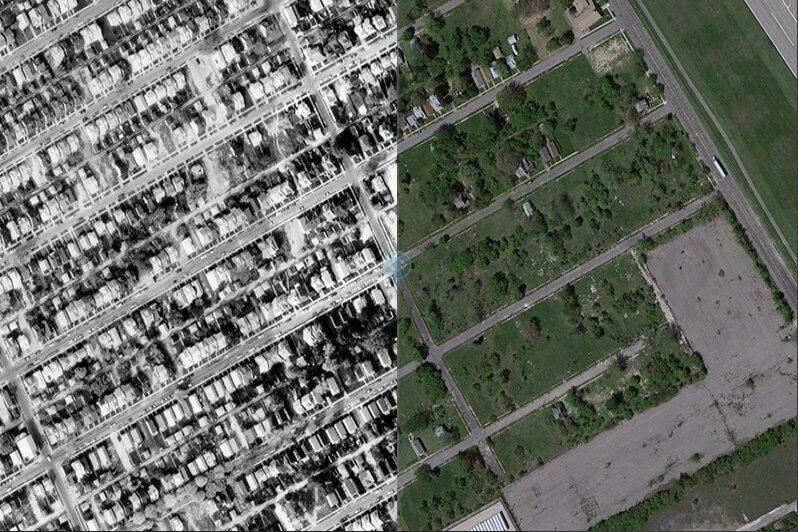 Город-призрак Детройт