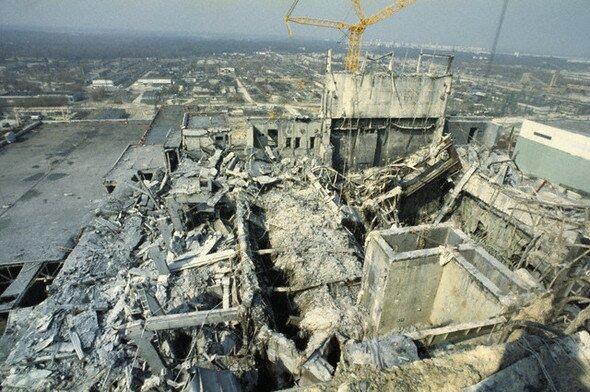 Взрыв ЧАЭС. 4-й энергоблок