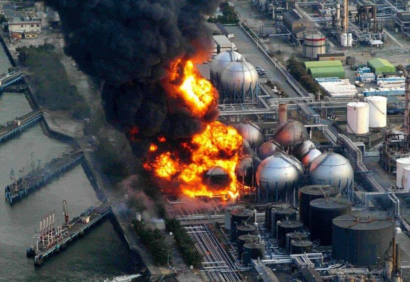 Авария на Фукусиме фото