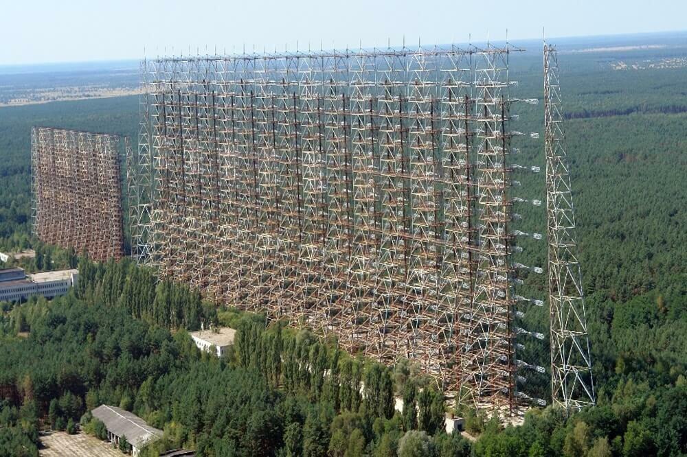 Дуга–2 Чернобыль фото