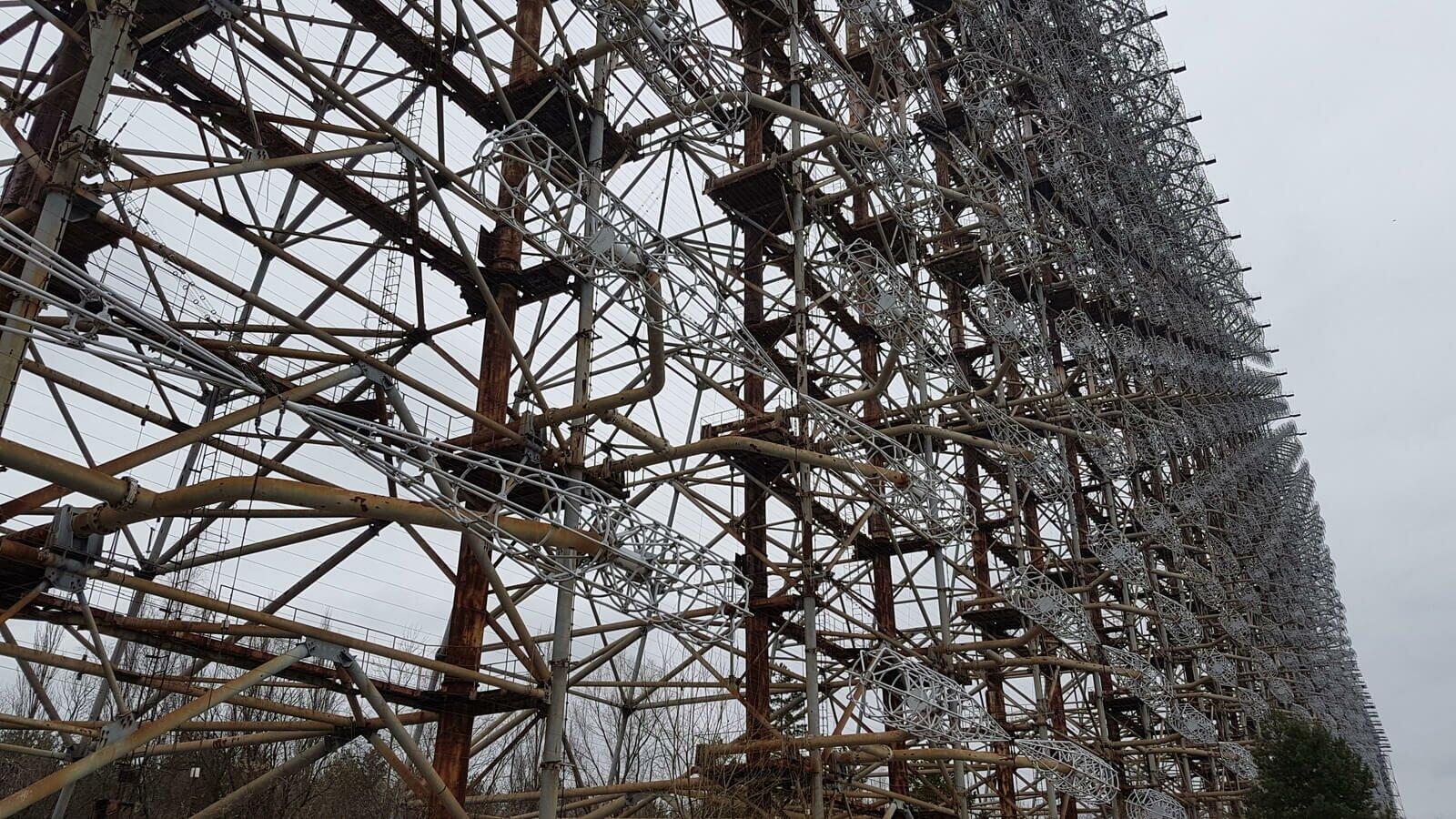 Дуга–2 в Чернобыле фото