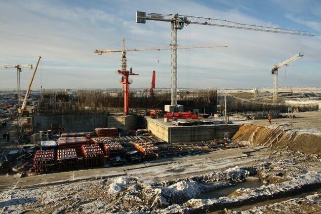 Балтийская АЭС строительство