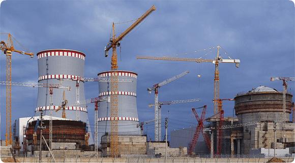 Строительство ЛАЭС – 2 в Сосновом Бору (Ленинградская область)