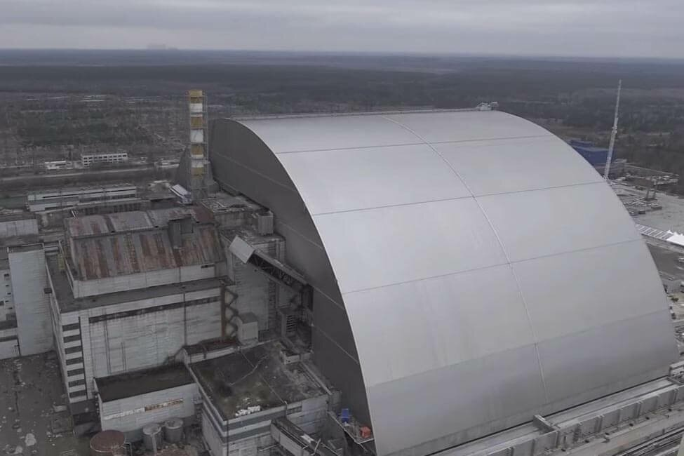 Новый саркофаг в Чернобыле