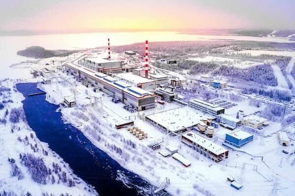 Кольская АЭС Полярные Зори