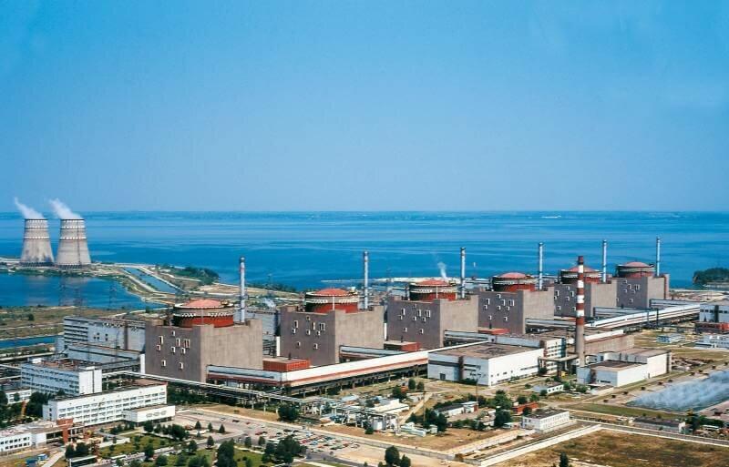 Запорожская АЭС в Энергодаре: фото и описание