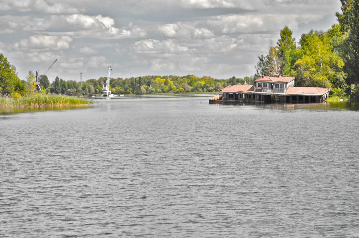 Река Припять фото