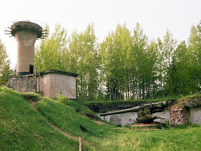 Форт «Красная горка» в СПБ фото