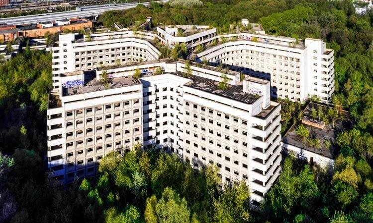 Строительство Ховринской больницы