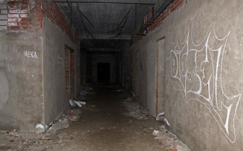 Ховринская больница подвал
