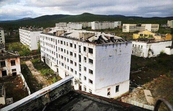 Город призрак Кадыкчан Магаданская область фото