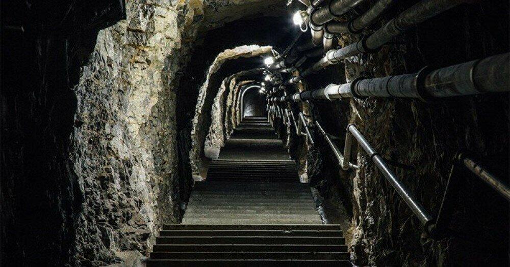 Заброшенный подземный город в Раменках фото
