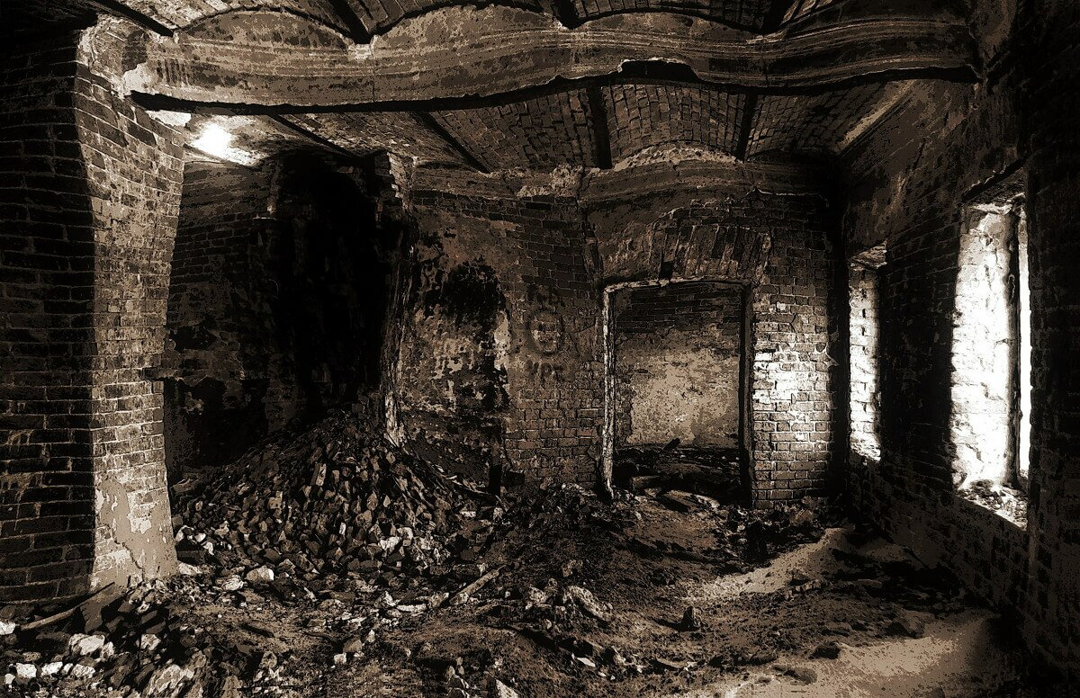 Заброшенные усадьбы Подмосковья без охраны