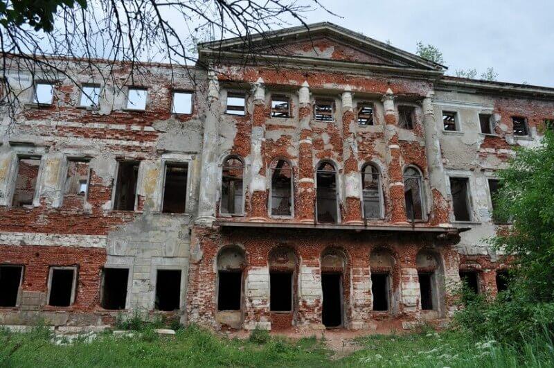 Заброшенная усадьба «Гребнево» во Фрязино фото