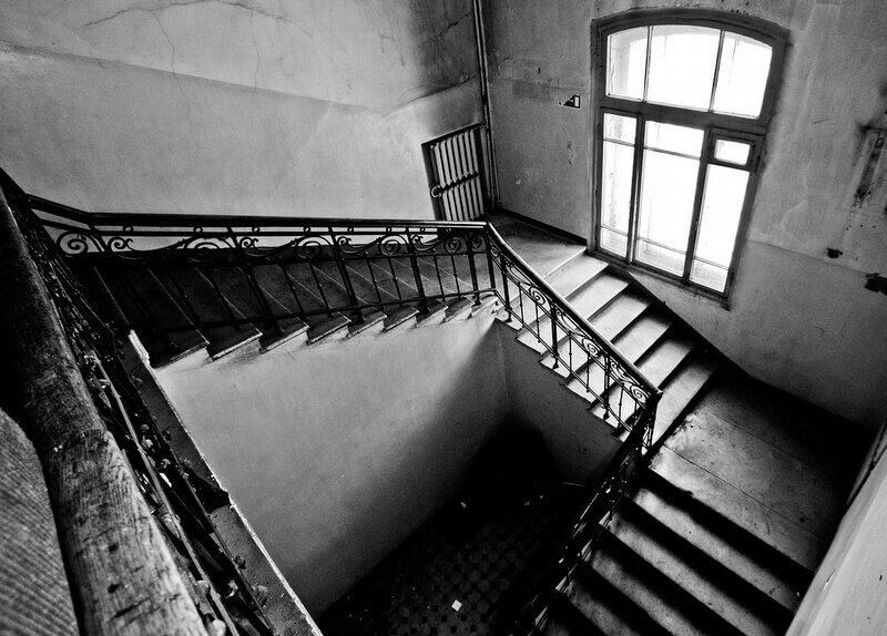 Заброшенная психиатрическая больница в Москве