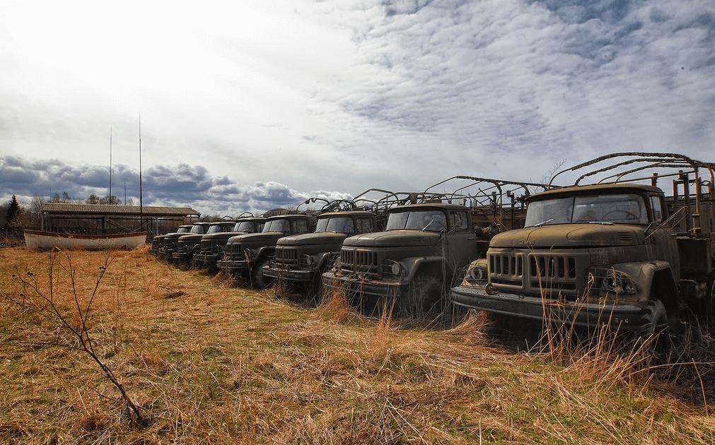 Заброшенные города и военные объекты России