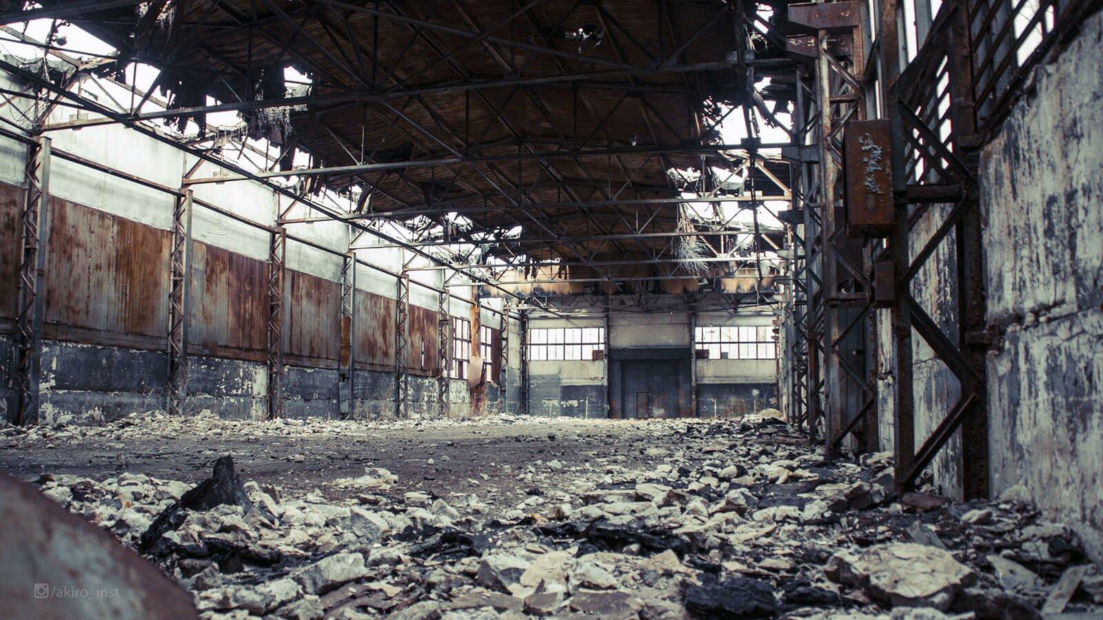 Заброшенные заводы Подмосковья без охраны