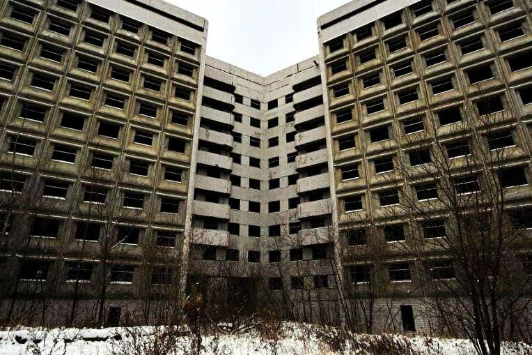 Заброшенные здания в Москве без охраны