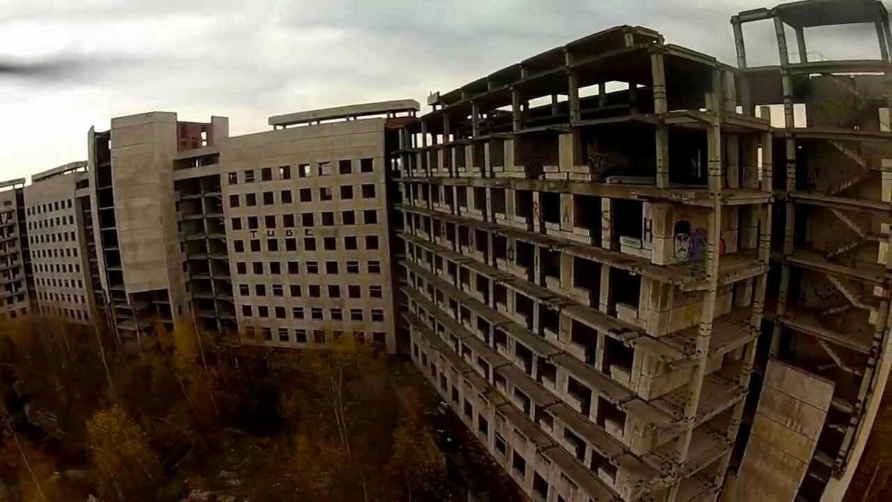 Заброшенные больницы Подмосковья без охраны