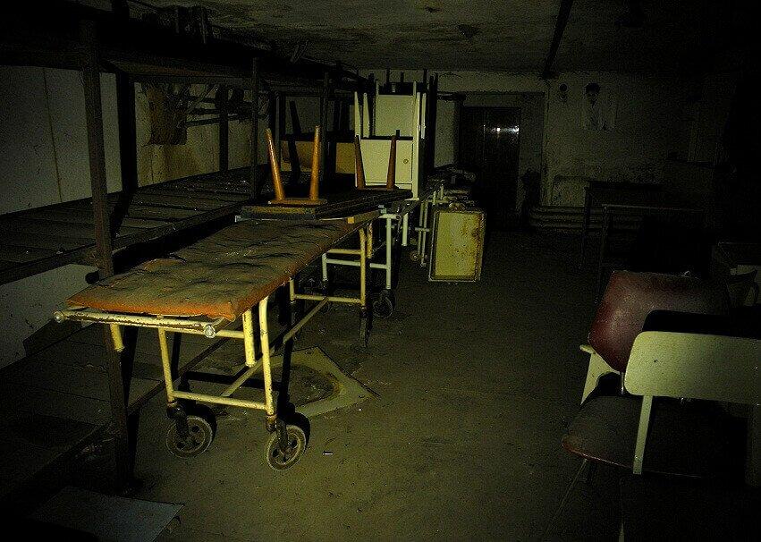 ХЗБ Ховринская заброшенная больница фото