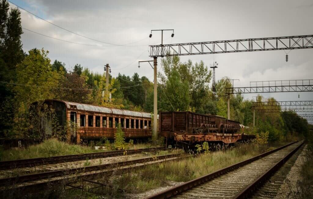 ЖД станция Янов
