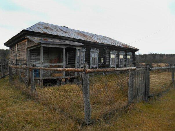 Деревня Хмелина фото