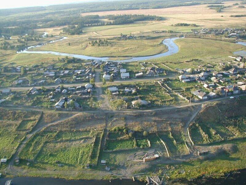 Деревня Кежма фото