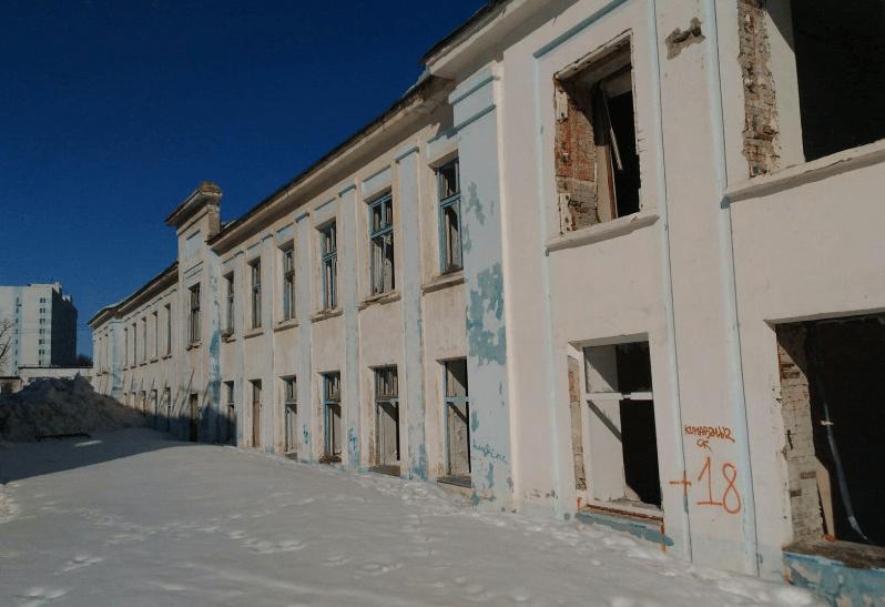 Спорткомлекс и общежитие в Уфе