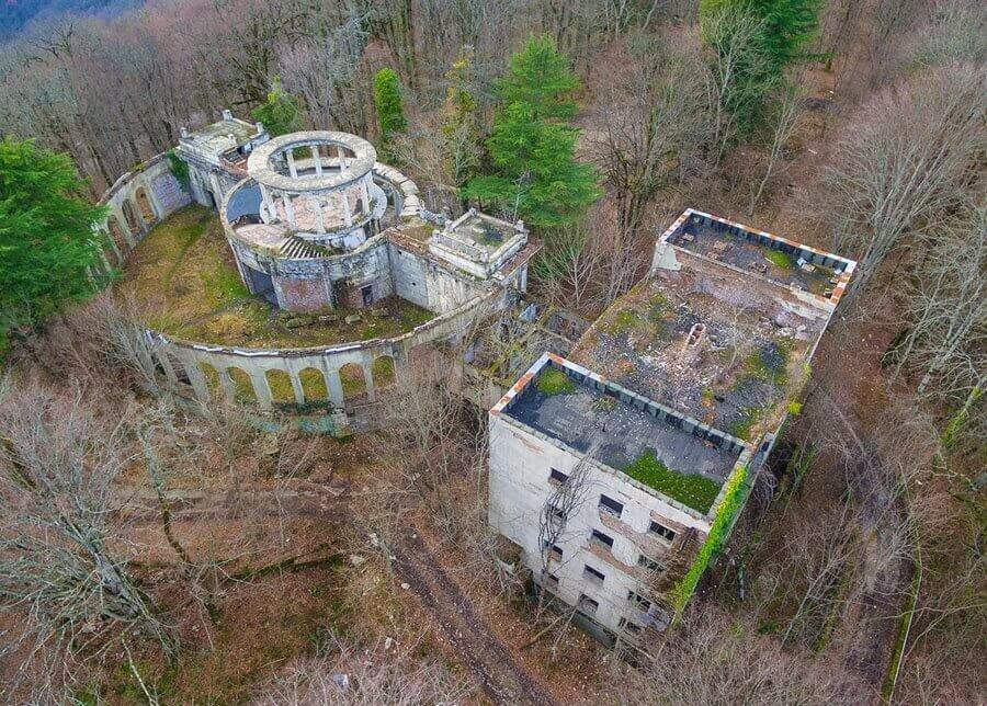 Заброшенные мертвые города призраки и деревни России