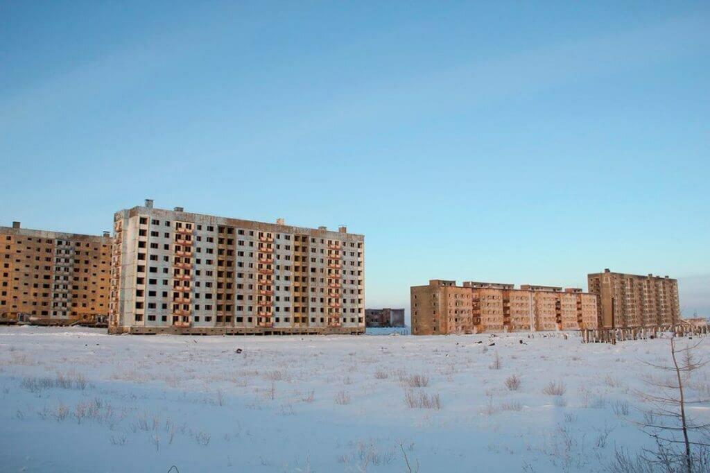Заброшенные места Красноярского края: деревни, города