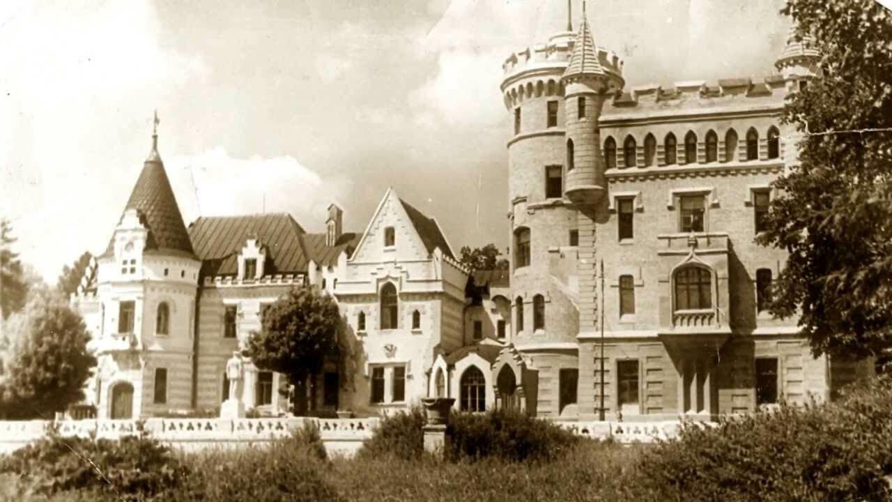 Храповицкий замок Владимирская область изображение