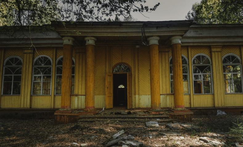 Заброшенный пионерский лагерь «Лесная быль» (Владимирская область) фото