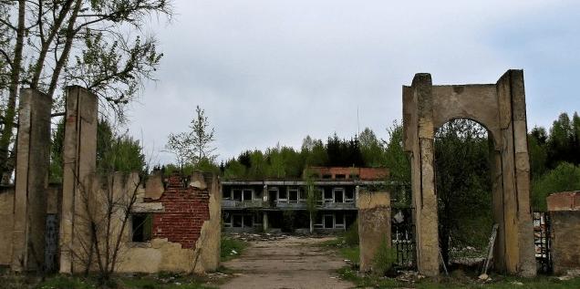 Заброшенный пионерский лагерь «Восход» (Владимирская область) картинка