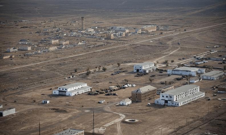Военный полигон Сары-Шаган в Казахстане