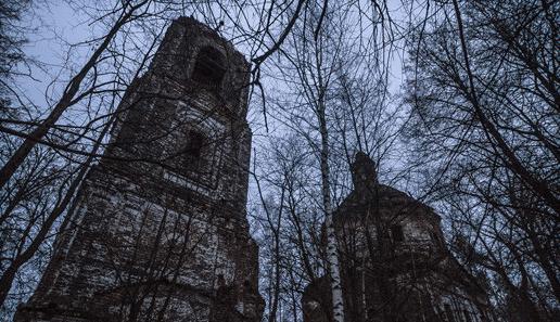 Заброшенная церковь Казанской богоматери (Владимирская область) фото