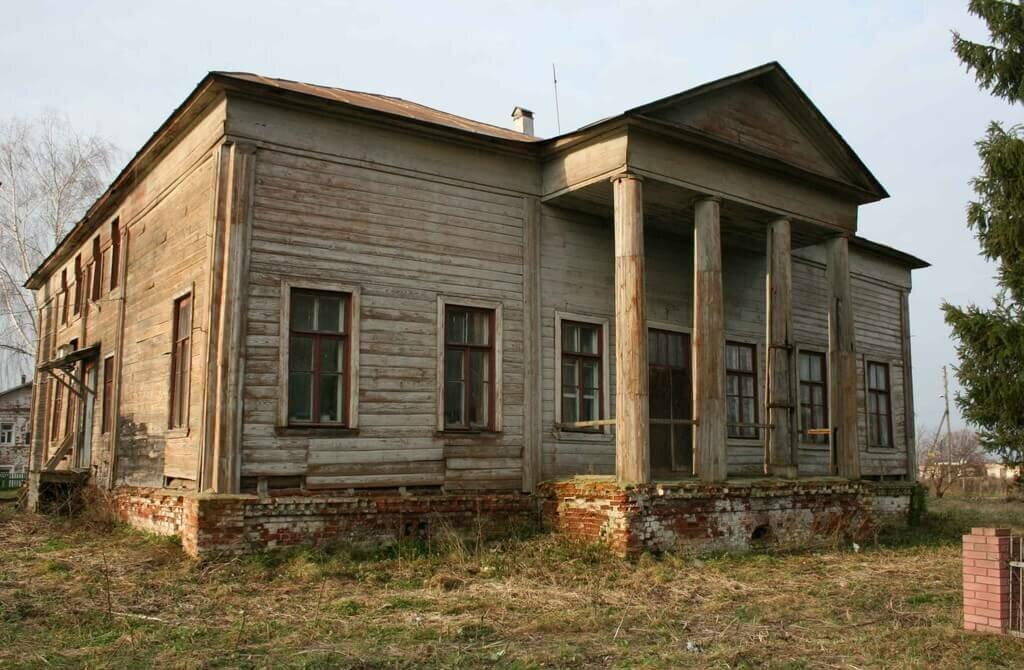 Заброшенная усадьба И. Рагозина (Владимирская область) изображение
