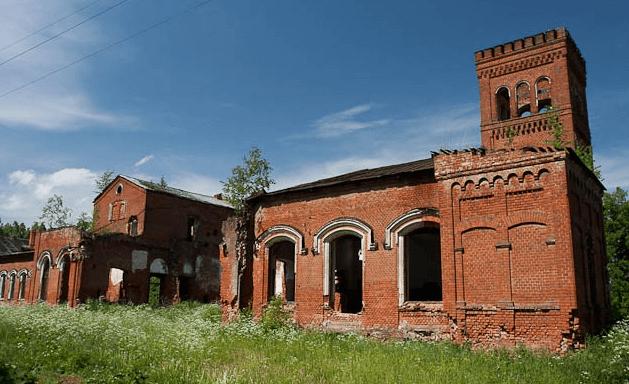 Заброшенная усадьба К.К.Толя (Владимирская область) картинка