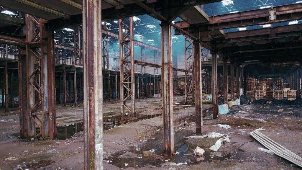 Заброшенные склады