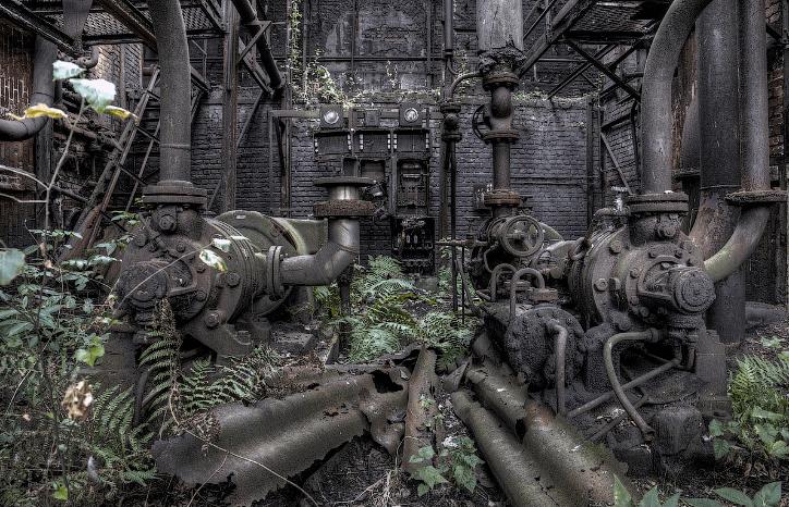 Заброшенные заводы